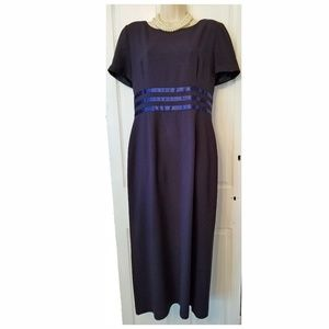 Maggie London by Kenneth Noland  Blue Gown size 12